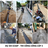 Dự án CCSEP - Thi công cống cấp 3